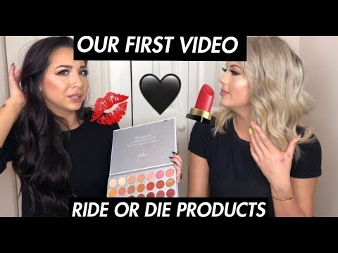 OUR FIRST VIDEO / ALL TIME FAVORITE BEAUTY PRODUCTS