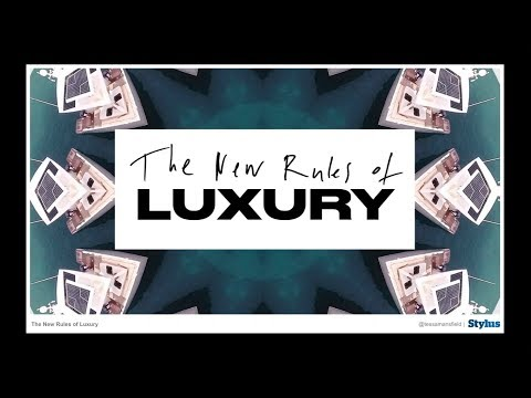 Korean Webinar: New Rules of Luxury (한국어 프리젠테이션)