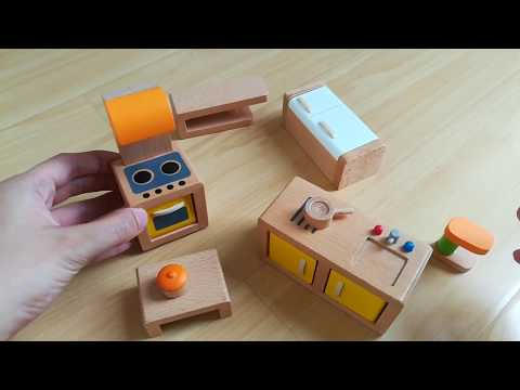 Let's Play! Hape Wooden Doll House And Toys