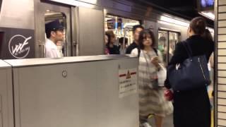 【乗り換え】心斎橋駅 長堀鶴見緑地線から御堂筋線(改札前を通るルート)