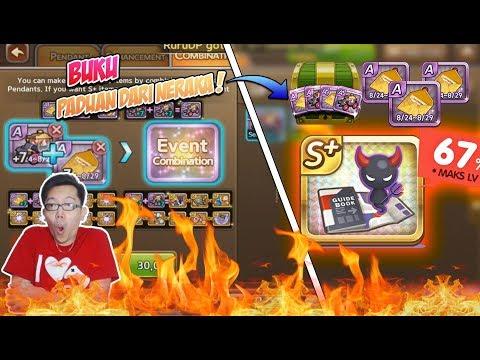 Line get rich : Guidebook from hell  ! Coba dari combine deh......
