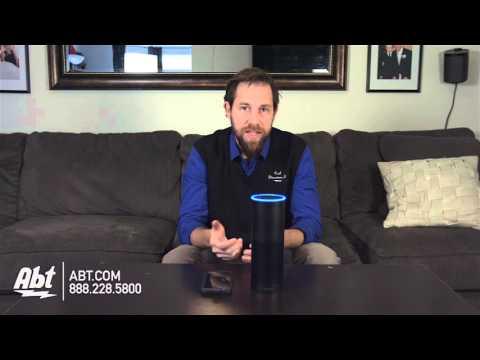 Amazon Echo Black Bluetooth Speaker B00X4WHP5E - Overview