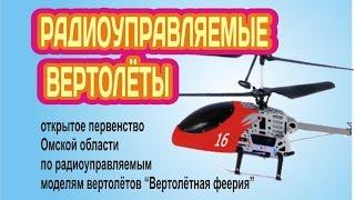Радиоуправляемые вертолёты. Первенство омской области