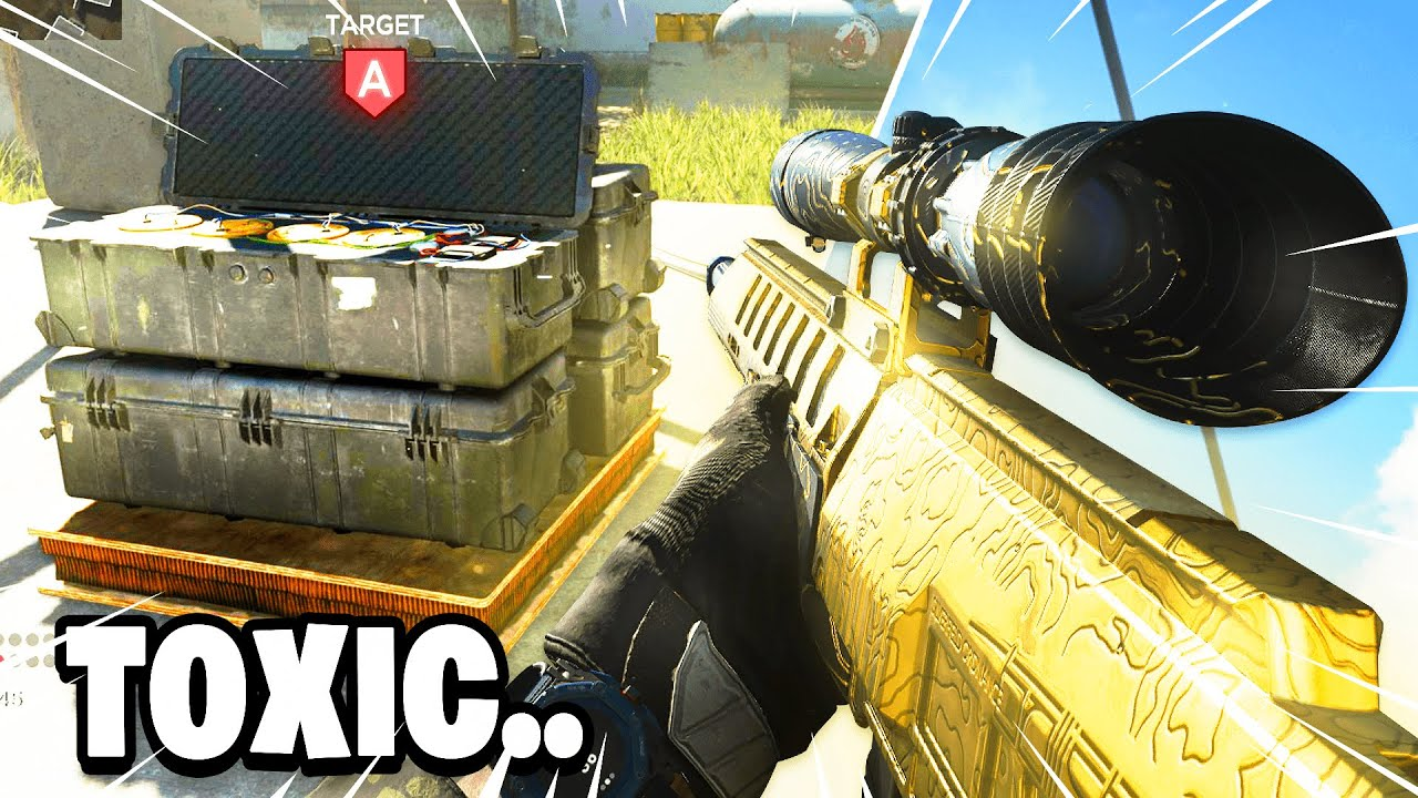 I sniped TOXIC KIDS on Search & Destroy in Modern Warfare.. (SND Sniping)