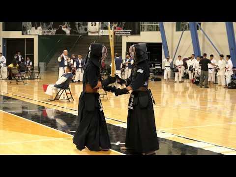 Kendo 2017 Nikkei Games 3 Dan Division: Semi Finals 2