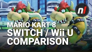 mario kart 8 deluxe nintendo switch wii u graphical comparison