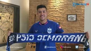 Perkenalan Jonathan Cantillana Pemain Baru PSIS Semarang