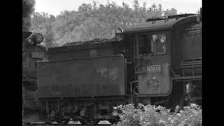 【名寄本線 SL音の記録】名寄本線 貨1693レ 49648+逆次49649重連牽引 貨物列車 一の橋駅~上興部駅間 本務機添乗音 1974 9