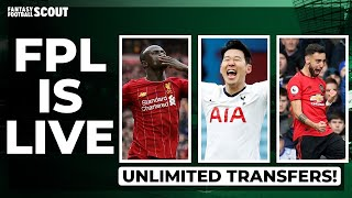 FPL IS LIVE - UNLIMITED TRANSFERS CONFIRMED