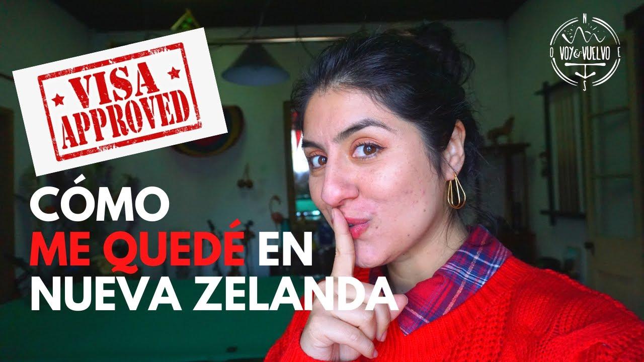 CÓMO ME QUEDÉ EN NUEVA ZELANDA: TE DIGO MI VISA 😨🤓 | Danielavoyyvuelvo