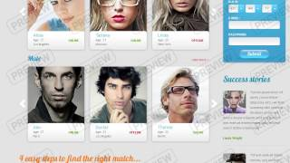 Love & Dating - Website Templates - DreamTemplate
