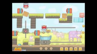 Play Piggy in the Puddle - Free Gameplay Walkthrough All Levels