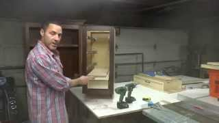 How To Build Your Own Kitchen Cabinets: Part 6e - Installing The Drawer Boxes