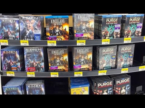 Blu-ray / Dvd Tuesday Shopping 10/4/16 : My Blu-ray Collection Series