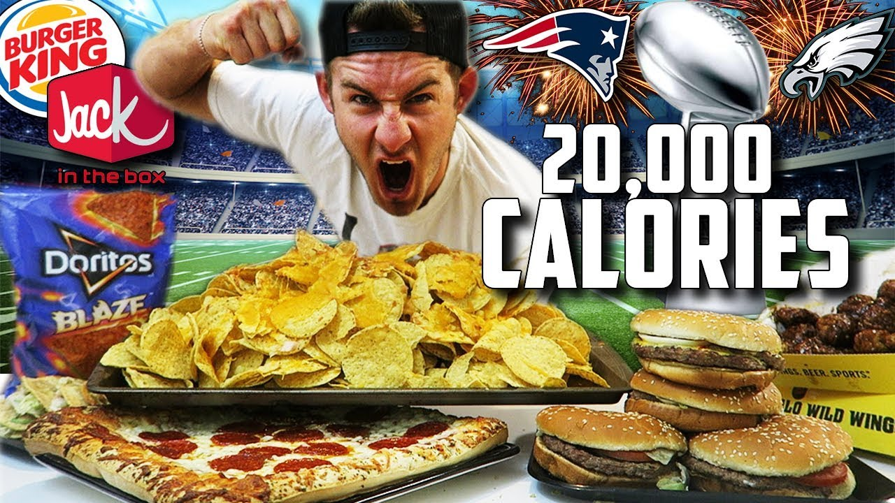 The Fast Food Superbowl Feast 20000 Calories
