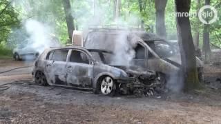 Opnieuw autobrand bij camping Arnhem - Omroep Gelderland
