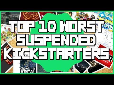 Top 10 Worst Suspended Kickstarter Campaigns