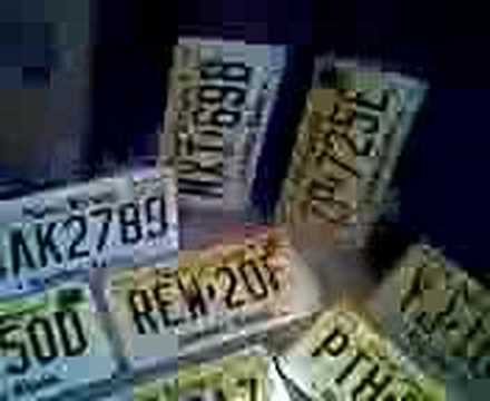 New Jersey License Plates-Part 6