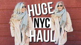 HUGE NYC HAUL!! kate spade, lululemon, brandy melville & MORE