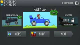 Unlocked All Vehicles And Maps - Hill CLimb Racing # Unlimited Coins And Gems
