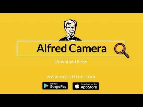 Alfred App camera - YouTube