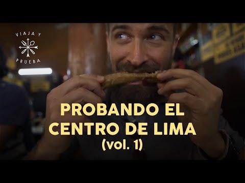 Probando el Centro de Lima - Viaja y Prueba con Luciano Mazzetti