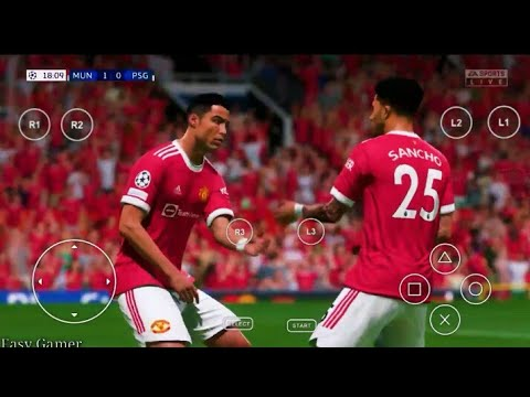 Download FIFA 22 PPSSPP ORIGINAL PS5 Play On Android & IOS Best Graphics Offline