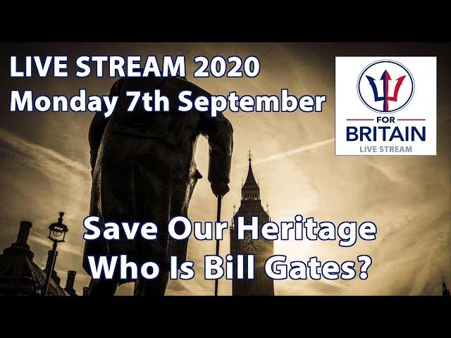 For Britain Live 7th September 2020