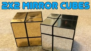 2x2 Bump/Mirror Cubes Unboxing!