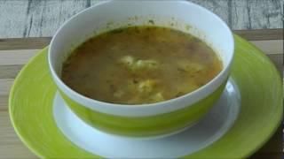 Как делать куриный суп с клецками видео рецепт
