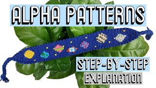 HOW TO READ ALPHA PATTERNS || Friendship Bracelets