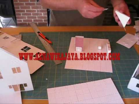 Lagu Aceh [how to Architectural Model Making part 1]