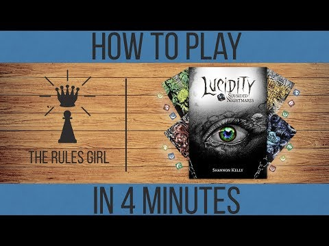 Lucidity: Six Sided Nightmares - How to Play in 4 Minutes