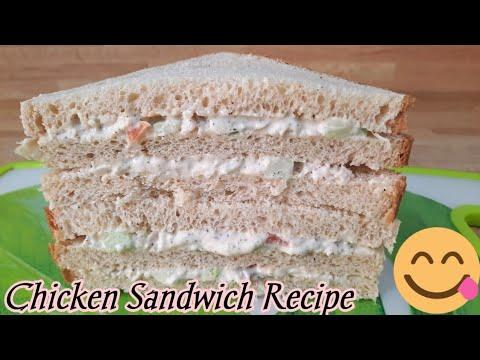 Download Chicken Sandwich Recipe 2 ways|Chicken Mayonnaise Sandwiches|Chicken Sandwich Quick & Easy Recipe.