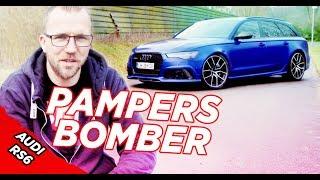 Der Pampersbomber - Björns Audi RS6 C7 V8 Bi-Turbo 0-300 km/h #hellobbm