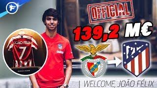 Les chiffres hallucinants du transfert de João Félix à l'Atlético de Madrid | Revue de presse