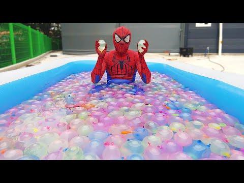 Spider Man Popping