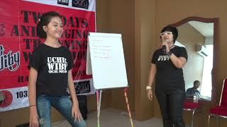 Agnes Monica - karena Kusanggup ( singging lesson - keyza part 2 ) uchie wiby workshop vocal