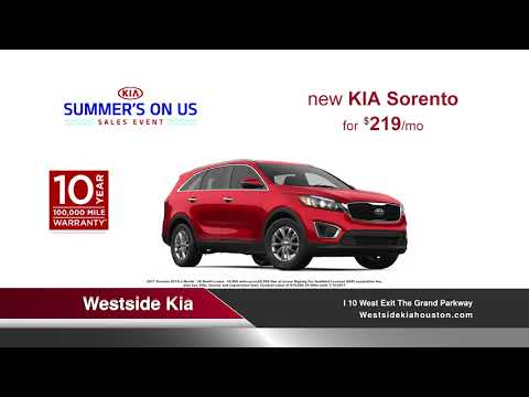 """""""Red, White, and Blue Sale"""" Westside Kia - May TV Spot"""