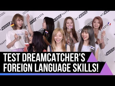 A Language Game With DREAMCATCHER For Their 2nd Europe Tour!