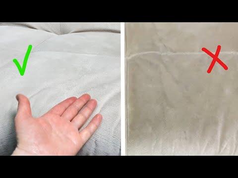 Чем чистить диван из флока в домашних условиях