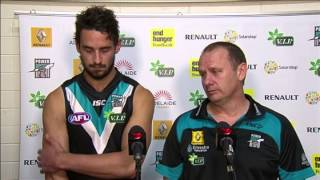PTV: Ken Hinkley and John Butcher press-conference, Round 16