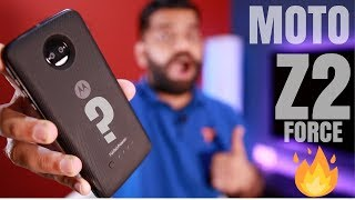 Moto Z2 Force Unboxing and First Look - Shatterproof 6GB RAM - My Opinions