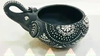 Beautiful Elephant Diya Collection||Designer Elephant Diya For Diwali||