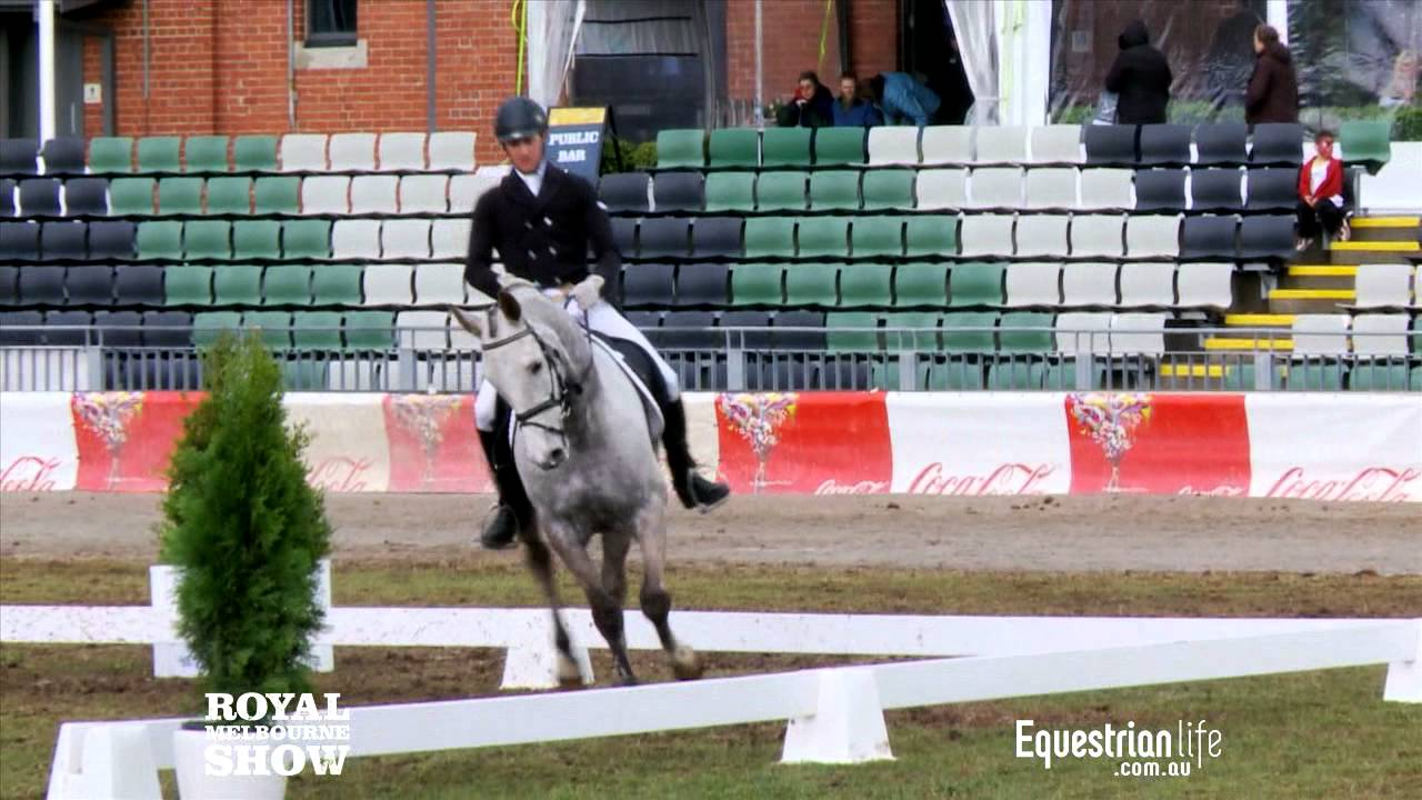 Chris Height & Blackall Park Dartagnan - Exhibition Eventing Dressage Phase 2012