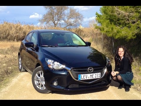 the all new 2015 mazda 2 test drive youtube. Black Bedroom Furniture Sets. Home Design Ideas