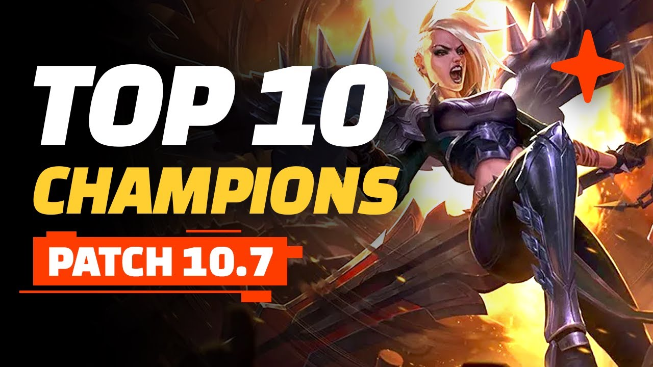 Top 10 Best Champions Teamfight Tactics Patch 10 7 Youtube
