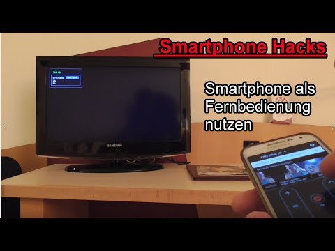 smartphone als fernbedienung f r den fernseher nutzen tv. Black Bedroom Furniture Sets. Home Design Ideas