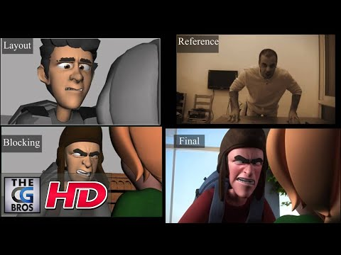 "CGI Animation Breakdowns HD: ""ELF"" Shot progression - by Alaa Aldeen Afifah"