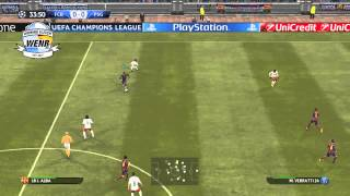 PES 2015 Gameplay - Barcelona Vs PSG (PC)
